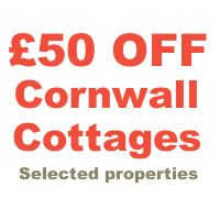 £50 OFF Cornwall Cottages