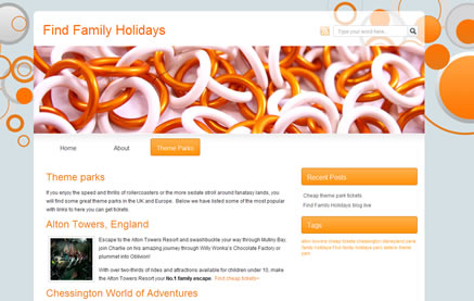 Family holiday blog
